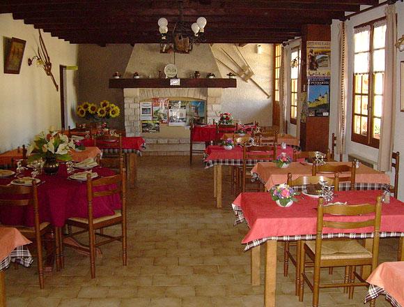 La salle de la table d\'hôtes
