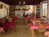 La salle de la table d'hôtes