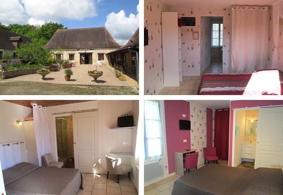 Chambres d'hôtes avec piscine en Dordogne Périgord Chez Françoise et Jean-Louis à La Douze